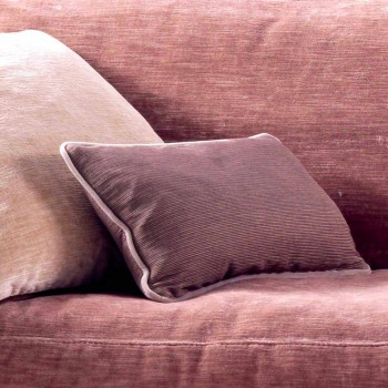 Canapé 3 places rembourré au design Grilli York fabriqué en Italie