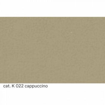 Canapé 3 places en cuir effet matelassé Made in Italy - Vesuvius