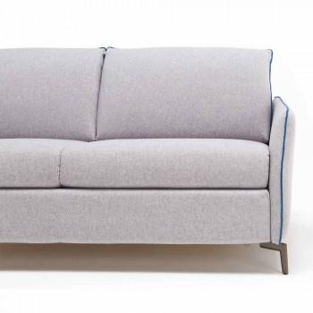 3 L205 maxi places cm cuir design moderne faux / tissu Erica