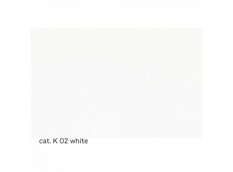 Canapé 3 places rembourré en cuir de haute qualité fabriqué en Italie - Centauro