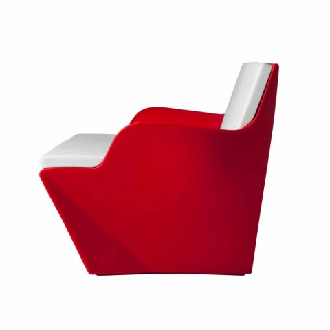 Slide avec accoudoirs Slide Kami Yon design coloré fabriqué en Italie
