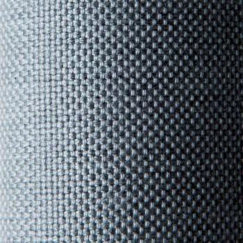 Canapé design 3 places en métal et tissu Made in Italy - Selia
