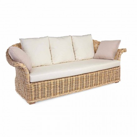 Canapé Ethnique Intérieur ou Intérieur Extérieur Style Ethnique 2 ou 3 Places Homemotion - Fermin