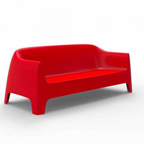 Canapé d'extérieur design moderne Solid by Vondom en polypropylène