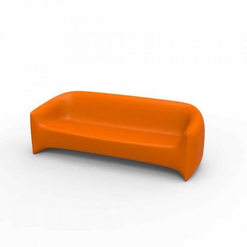 Canapé d'extérieur design en résine de polyéthylène Blow by Vondom