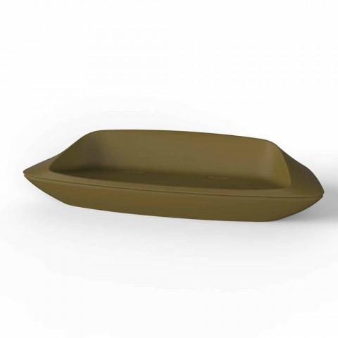 Canapé d'extérieur design Ufo by Vondom en résine de polyéthylène