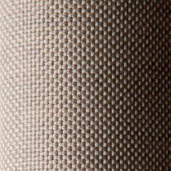 Canapé d'angle modulable en métal et tissu Made in Italy - Cola