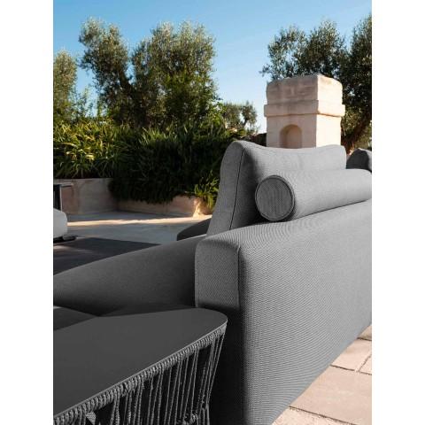 Canapé de jardin en tissu design moderne - Cliff Decò by Talenti