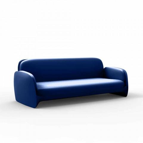 Canapé de jardin design moderne en polyéthylène Pezzettina de Vondom