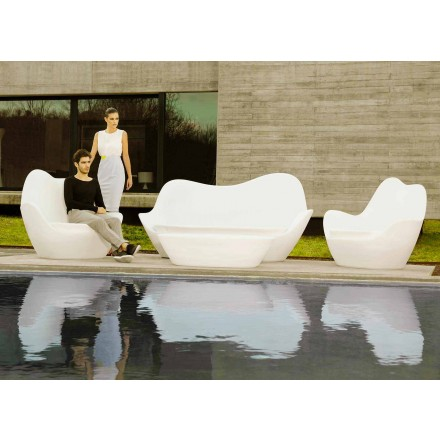 Canapé d'extérieur moderne Sabinas de Vondom en polyéthylène