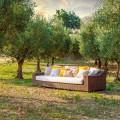 Canapé de jardin Joe, fait à la main, de design moderne