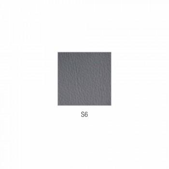 Canapé d'attente en cuir simili cuir Made in Italy de Cesare