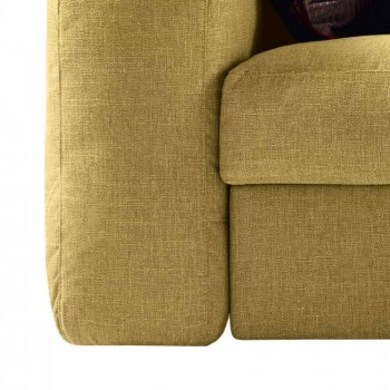 Canapé 3 places en tissu Grilli George fabriqué en Italie