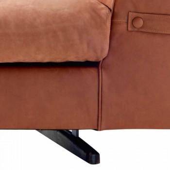 Canapé 3 places en tissu rembourré Grilli Joe fabriqué en Italie