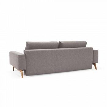 Canapé-lit Idun moderne gris fabriqué au Danemark - Innovation