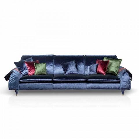 Canapé tissu avec accoudoirs de porte linéaires objets Axel