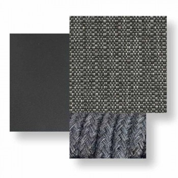 Canapé d'extérieur deux places en tissu et aluminium - Moon Alu by Talenti