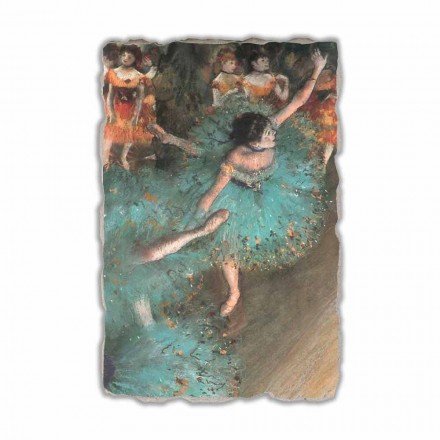 Danseuse basculant de Edgar Degas, peinture à fresque
