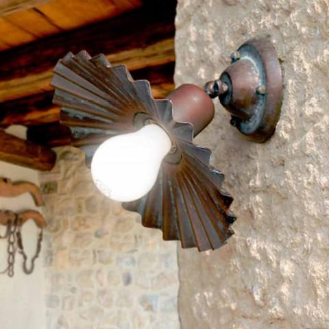 Plafonnier encastré dans laiton antique hibou