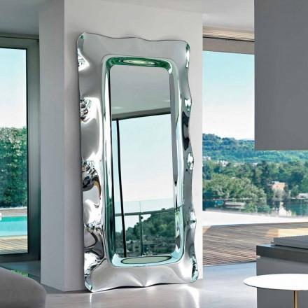 Miroir de sol / mur Fiam Italia Dorian 202x105cm fabriqué en Italie