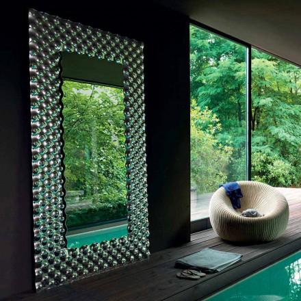 Miroir mural / de sol moderne Fiam Italia Pop 216x116cm fabriqué en Italie