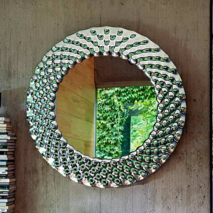Miroir mural rond Fiam Italia Pop 148cm de design Made in Italy