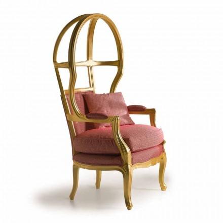 Fratelli Boffi Babette fauteuil design en bois rembourré en tissu