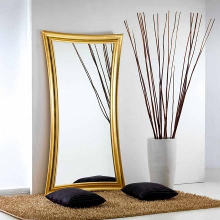 Gran miroir de sol/mural design moderne Heart 110x197cm