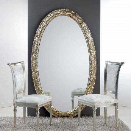 Grand miroir  ovale de sol/mural Life, 114x190 cm