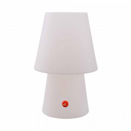 Lampe LED rechargeable en polyéthylène pour intérieur ou extérieur - Fungostar