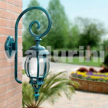 Lampe d'extérieur murale en fonte d'aluminium, Anika