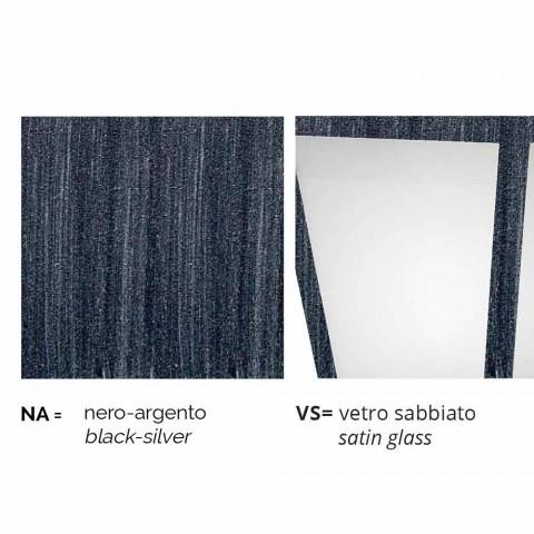 Applique d'extérieur en aluminium produite en Italie, Aquilina