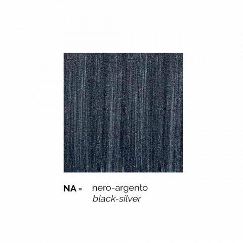 Applique d'extérieur en aluminium Anika fabriquée en Italie
