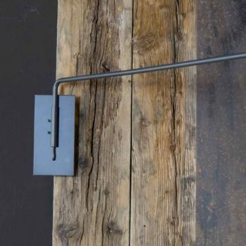 Applique d'extérieur en fer avec LED orientable Made in Italy - Forla