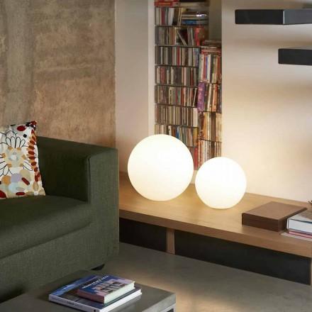 Lampe à poser / boule de table moderne Slide Globo, produite en Italie