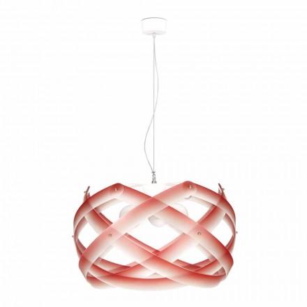 Lampe à suspension 3 lumière en méthacrylate, diamètre 67cm, Vanna