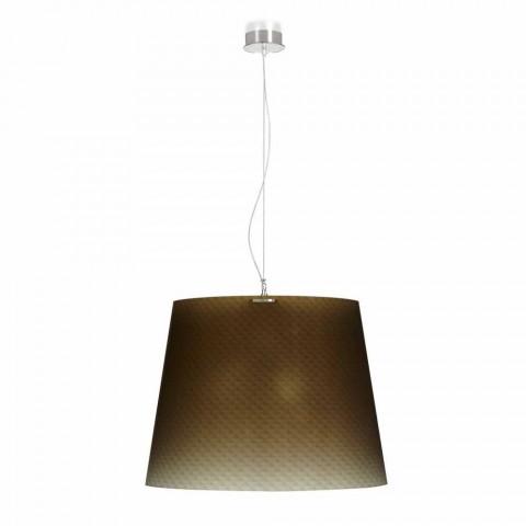 Lampe A Suspension 3 Lumiere En Polycarbonate Design Diam 66cm Rania