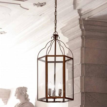 Suspension moderne avec 3 lumières Turandot
