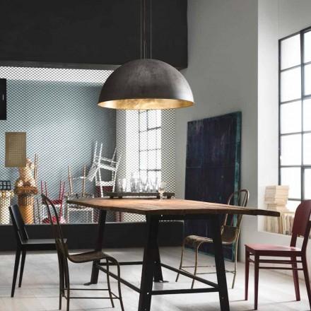 Lampe suspendue de design rustique Galileo Ø40 cm Il Fanale