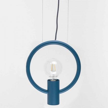 Lampe à Suspension Design en Acier Made in Italy - Delizia