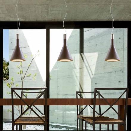 Suspension de design moderne en béton Funnel par Aldo Bernardi