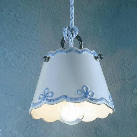 Lampe suspendue faite en céramique en Italie par Ferroluce