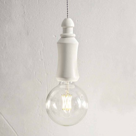 Lampe à Suspension en Céramique Made in Italy Shabby - Fate Aldo Bernardi