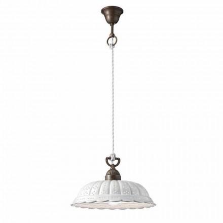 Lampe suspendue en céramique Anita Ø32 cm Il Fanale
