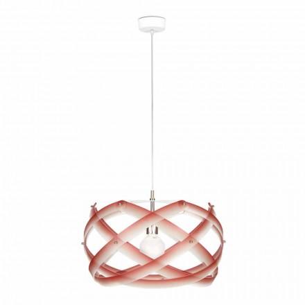 Lampe à suspension métacrylate avec décoration diamètre 53cm, Vanna