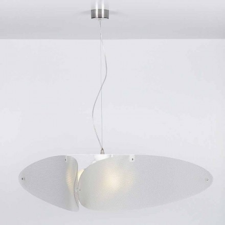 Lampe à suspension en méthacrylate moderne, diamètre 116 cm, Taire