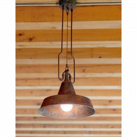 Suspension moderne en cuivre et laiton veillis Fonderia