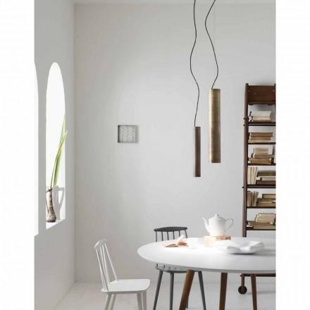 Lampe à suspension de style rustique Ø10 cm Girasoli Il Fanale