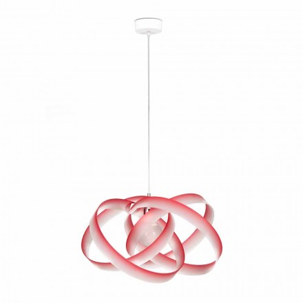 Lampe à suspension moderne en méthacrylate, diamètre 56 cm, Ferdi