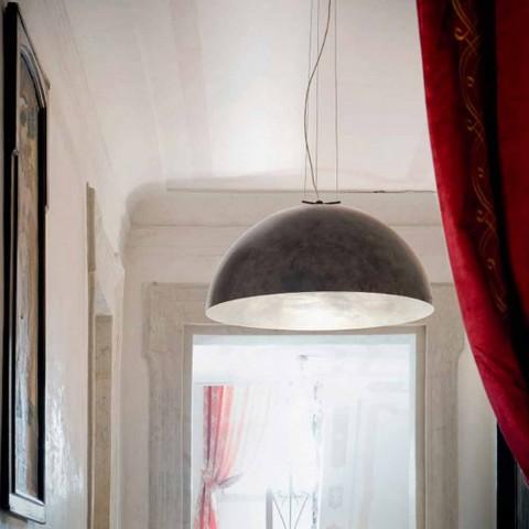 Lampe suspension petite acier Moonlight